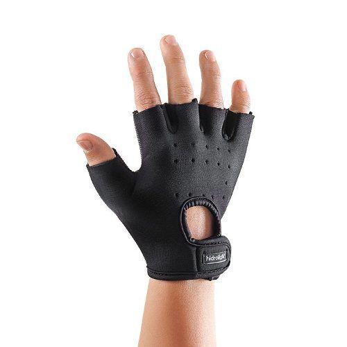 Luva Power Grip Musculação Hidrolight - Preto