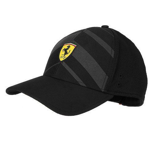 Boné Puma Ferrari Sf Fanwear Tech Bb - Black - Original