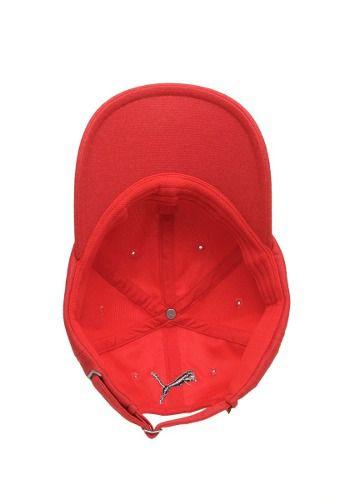 Boné Puma Ferrari Fanwear Baseball Cap Original + Nfe