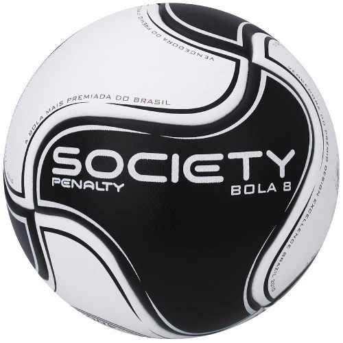 Bola Penalty Society Bola 8 Viii - Branco / Preto