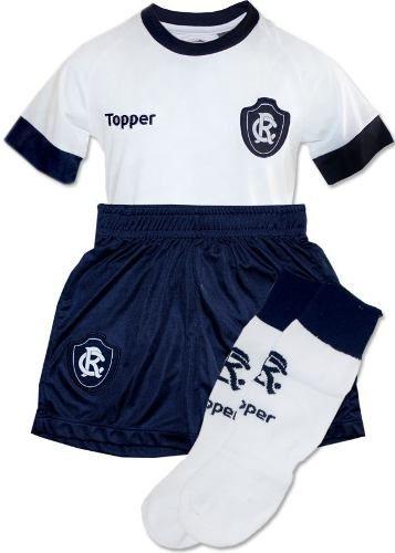 Conjunto Infantil Oficial Jogo 2 Remo Branco 2018