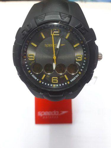 Relógio Speedo 80556Goegnp2 5112 - Preto\Amarelo - Original