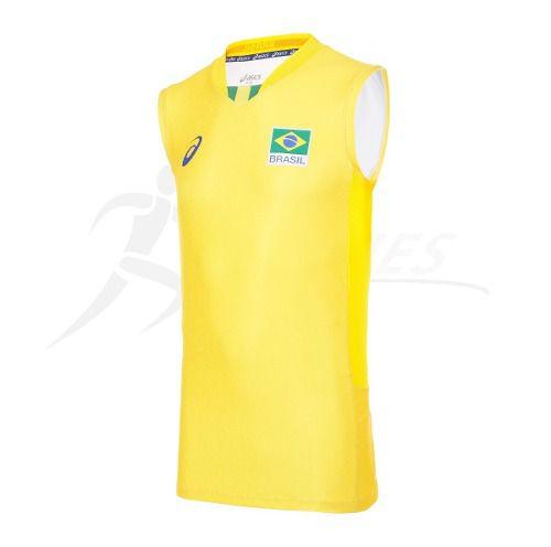 9c94b51b74d Regata Oficial Seleção Brasileira Vôlei - Asics - Original - Titanes  Esportes