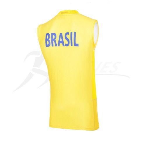 76e232f5c Regata Oficial Seleção Brasileira Vôlei - Asics - Original - Titanes ...