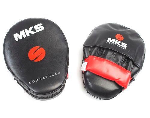Manopla de Mão Foco Longa Mks - Vermelha - Par