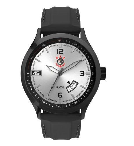 a4f36a110b831 Relógio Technos Masculino Corinthians Preto - Cor4465C 8K - Titanes Esportes