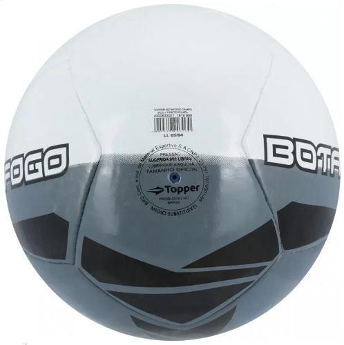 Bola de Futebol de Campo ToPPer - Botafogo 2017