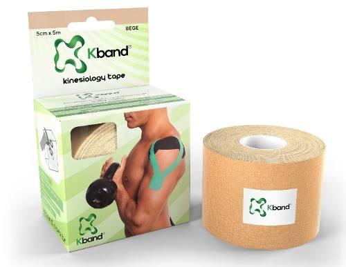 Bandagem Adesiva Kinesio Kband - Bege 5Cm X 5M