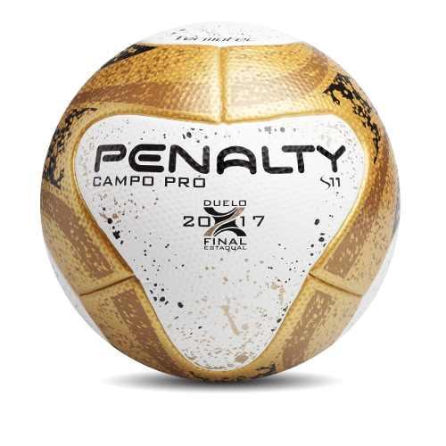 Bola Penalty Campo Pró Oficial Finais dourada - Titanes Esportes 4ed2c3901eef5