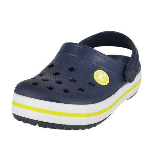Sandália Crocs Crocband Adulto Navy / Citrus