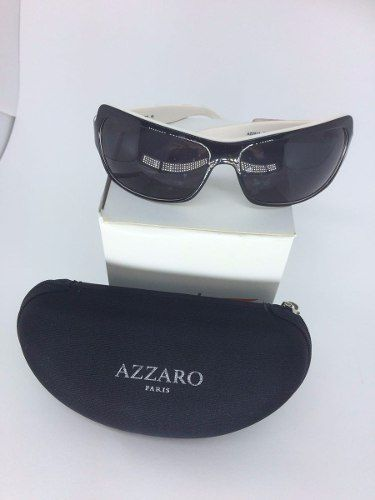 Óculos Azzaro - Original (Preto\Branco)