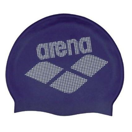 Touca Arena Silicone Led Adulto - Azul Marinho