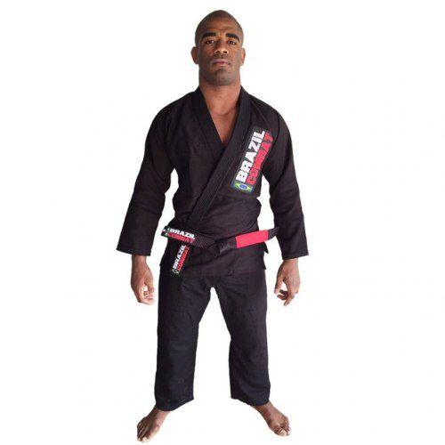 Kimono Starter Brazil Combate - Preto