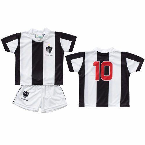 Conjunto Infantil do Atlético Mineiro - Torcida Baby