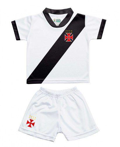 Conjunto Vasco Infantil Torcida Baby