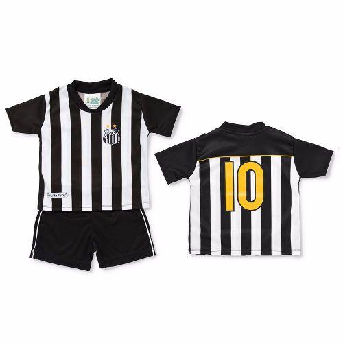 97ef0c5dfd174 Conjunto Infantil Do Santos Torcida Baby - 2 Ano - Artigos Esportívos