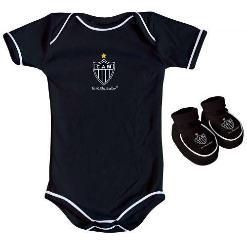 Body Infantil Masculino Torcida Baby Atlético Mineiro