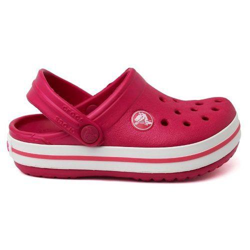 Sandália Crocs Crocband Infantil Raspberry