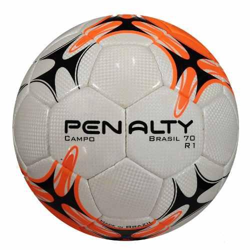 0094dd5146651 Bola Penalty Brasil 70 Campo R1 - Branca   Laranja - Titanes Esportes