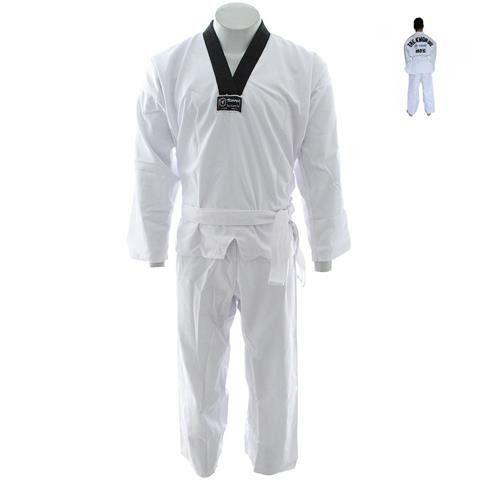 Kimono Reforçado Taekwondo Gola Preta - Torah