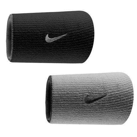 Munhequeira Dupla Face - Nike - Preto\Cinza