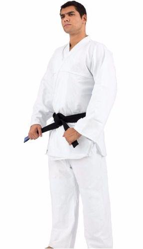 Kimono Reforçado - Judo/Jiu Jitsu - Torah - Branco - A5