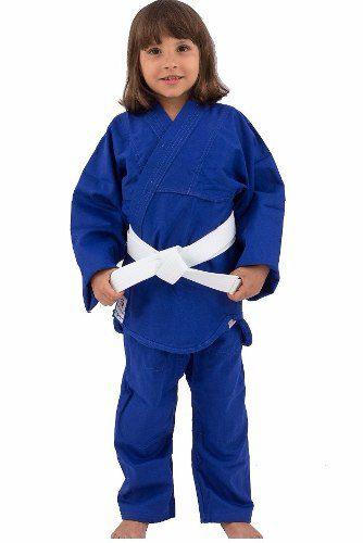 Kimono Combat Kids - Judo / Jiu Jitsu - Torah - Azul