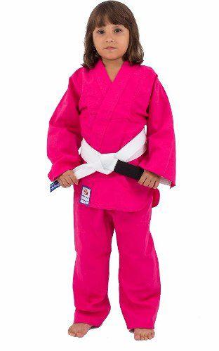 Kimono Combat Kids - Judo / Jiu Jitsu - Torah - Rosa