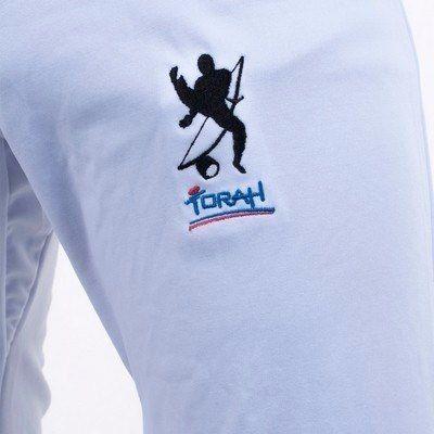 Calça Capoeira Em Poliamida - Torah - Adulto