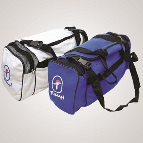 Bolsa Viagem Tecido Trançado Torah Branca - Titanes Esportes 9b9be2631c4