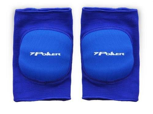 Joelheira Profissional Indoor Poker Azul - P - Titanes Esportes f7b6f114704c2