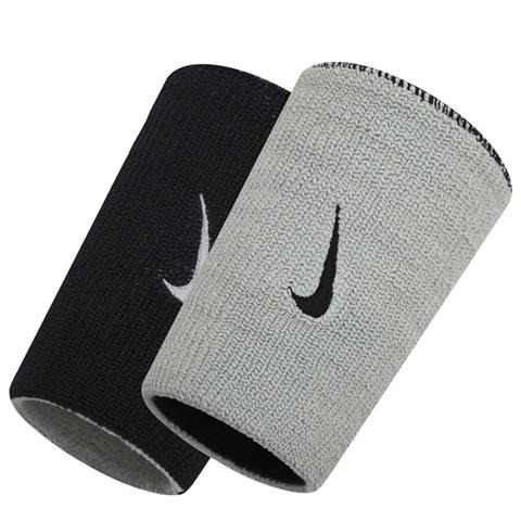 Munhequeira Dupla Nike - Cinza\ Preto