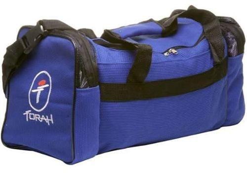 73930f5a27c36 Bolsa Viagem Tecido Trançado Torah Azul - Titanes Esportes