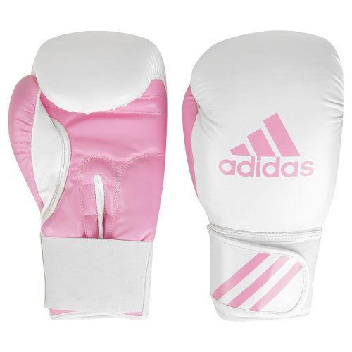 Kit Luva Boxe Adidas Response Glove - Branca / Rosa
