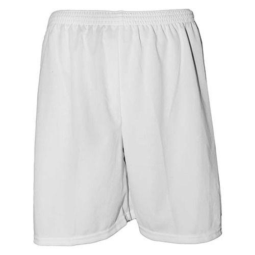 4b87702f57 Calção de Futebol Liso Poliéster Nata Sports - Branco - Titanes Esportes