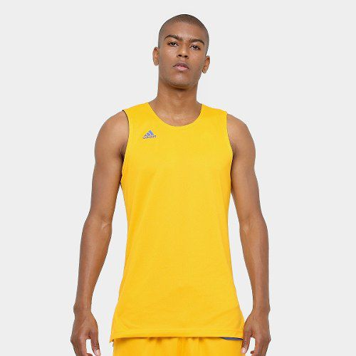 Camiseta Regata adidas Treino Reversivel - Azul amarelo - Titanes Esportes 9e7852cbc7f