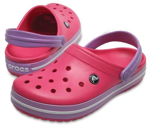4dca00e1b Sandália Crocs Crocband Adulto Paradise Pink   Iris - Titanes Esportes
