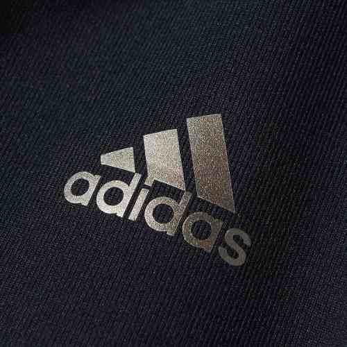 Top Adidas V Wo Basic Média Sustentação - Preto