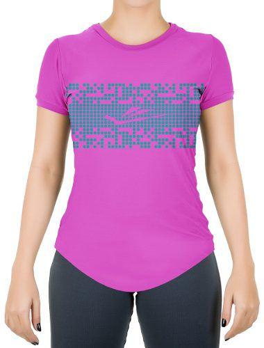 31766127187 Camisa Elite Running Verde E Rosa - Original - Titanes Esportes