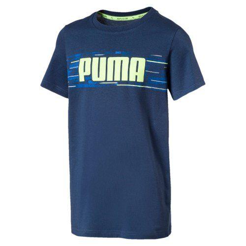 2824be8992 Camisa Infantil Hero Tee Azul verde - Puma - Original - Titanes Esportes