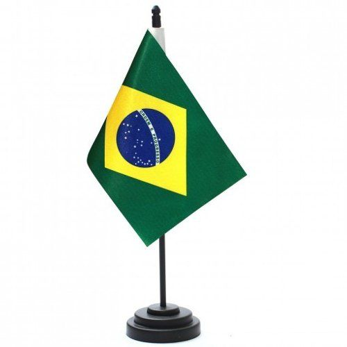 Bandeira De Mesa Brasil