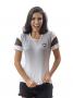 Camisa Braziline Feminina Deserve Botafogo - Branco