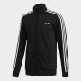 Jaqueta Adidas ESSENTIALS 3-STRIPES DQ3070 - PRETO