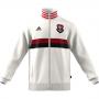 Jaqueta Flamengo 3S Remo Adidas - Branco