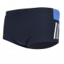 Sunga Adidas colorblocked wide - azul