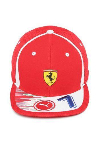 Boné Puma Ferrari Raikkonen Cap Vermelho Motorsport