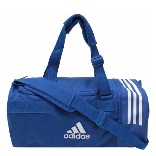 0b2cc99cd Bolsa adidas 3stripes Duffel P - Azul E Branco - Titanes Esportes