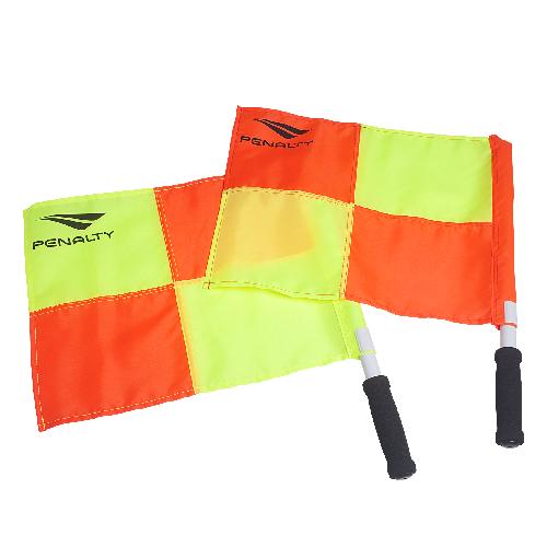 Bandeirinha Para Árbitro Penalty - Amarelo / Laranja