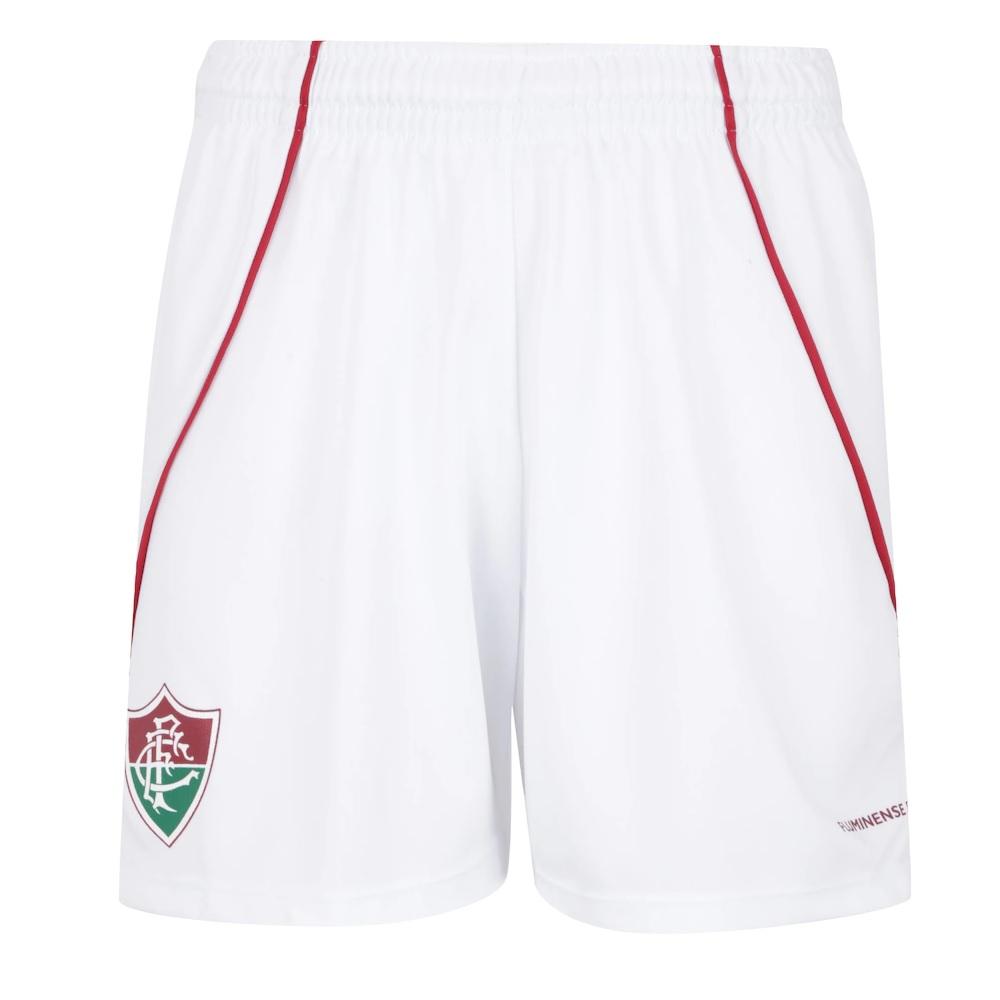 Bermuda Braziline Fluminense Infantil - Branco