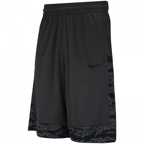 Bermuda Nike Courtlines - Masculina - Cinza